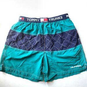 Vintage Tommy Hilfiger Swim Trunks Men's XL